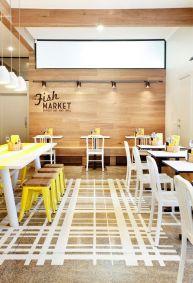 Żółty jest świetny do restauracji i barów