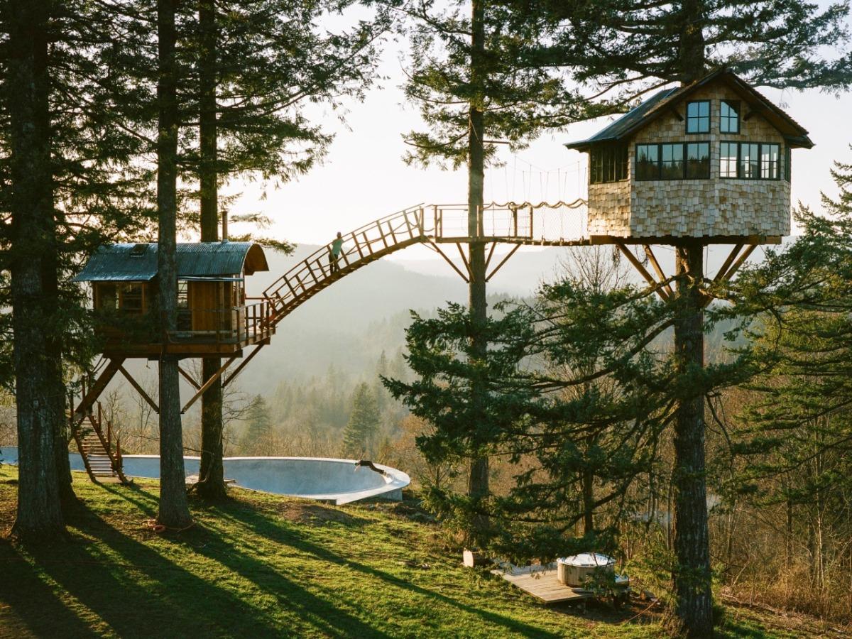 Dom na drzewie spełnienie marzeń z dzieciństwa