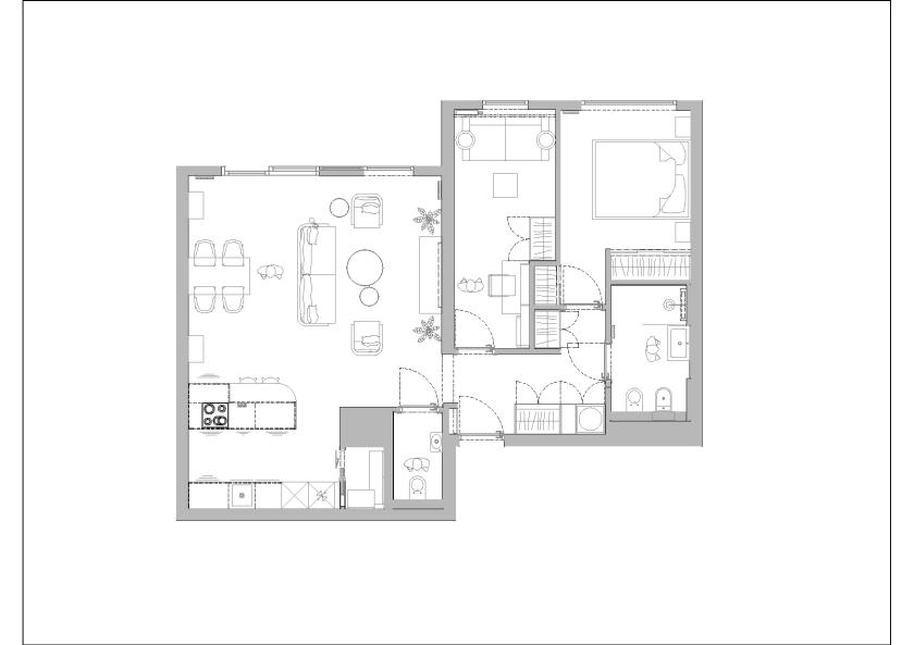 Rzut mieszkania 001